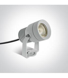 10W LED Zemē iedurams dārza gaismeklis White IP65 7046/W/W