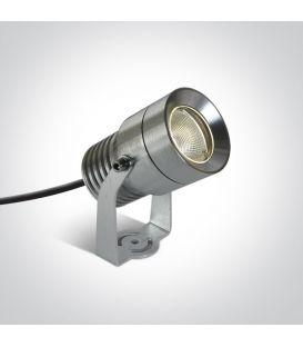 10W LED Iebūvēts ārējais apgaismojums Aluminium IP65 7046/AL/W