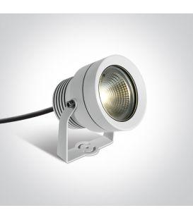 20W LED Zemē iedurams dārza gaismeklis White IP65 7047/W/W
