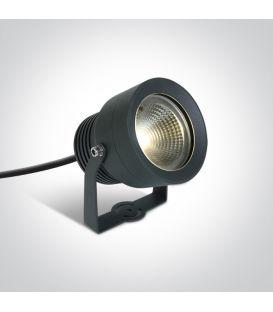 20W LED Zemē iedurams dārza gaismeklis Anthracite IP65 7047/AN/W