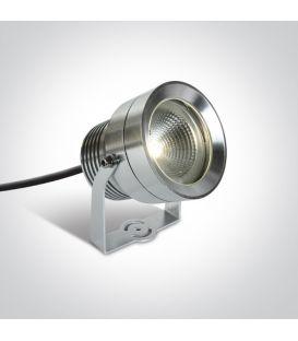 20W LED Zemē iedurams dārza gaismeklis Aluminium IP65 7047/AL/W