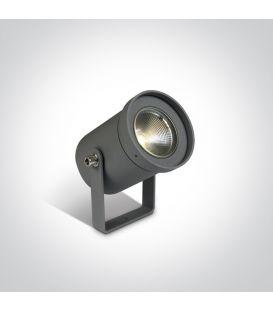 3W LED Iebūvēts ārējais apgaismojums IP65 Anthracite 67196A/AN/W