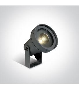 6W LED Iebūvēts ārējais apgaismojums IP65 Anthracite 67196B/AN/W