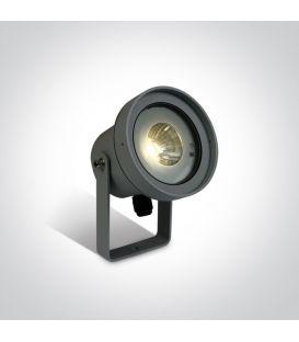 9W LED Iebūvēts ārējais apgaismojums IP65 Anthracite 67196C/AN/W