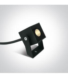 1W LED Zemē iedurams dārza gaismeklis IP65 Anthracite 7052B/AN/W