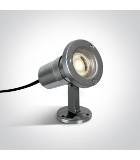 Iebūvēts ārējais apgaismojums IP65 Steel 7008A