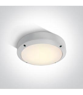 10W LED Griestu lampa White IP54 67442/W/W
