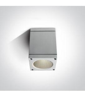 6W LED Griestu lampa IP54 White 67138D/W/W