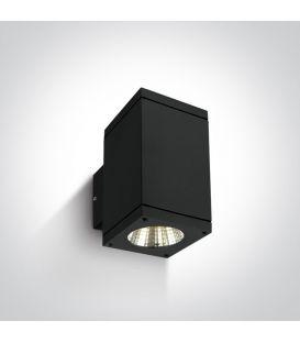 12W LED Sienas lampa IP54 Black 67138A/B/W