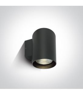 20W LED Sienas lampa IP65 Anthracite 3000K 67138EL/AN/W