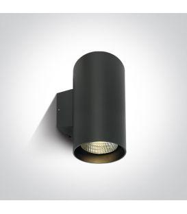 40W LED Sienas lampa IP65 Anthracite 4000K 67138L/AN/C