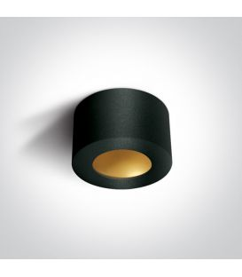 8W LED Griestu lampa Black Ø10.7 12108FD/B/BS