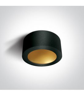 16W LED Griestu lampa Black Ø17.5 12116FD/B/BS