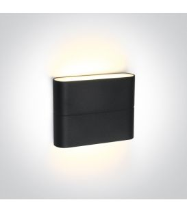6W LED Sienas lampa IP54 Anthracite 67376/AN/W