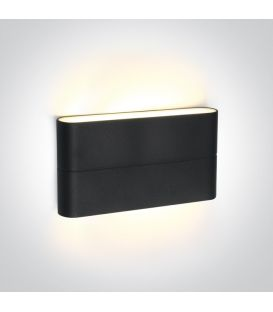 12W LED Sienas lampa IP54 Anthracite 67376A/AN/W