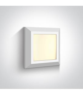 3.5W LED Sienas lampa IP65 White 67394A/W/W