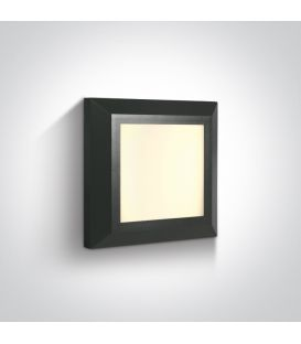 3.5W LED Sienas lampa IP65 Anthracite 67394A/AN/W