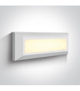 3.5W LED Sienas lampa IP65 White 67394/W/W