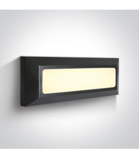3.5W LED Sienas lampa IP65 Anthracite 67394/AN/W