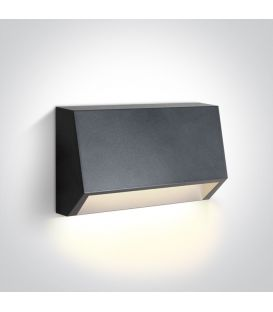 1.5W LED Sienas lampa IP65 Anthracite 67386A/AN/W