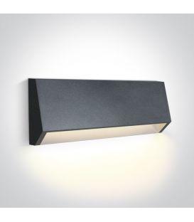 4W LED Sienas lampa IP65 Anthracite 67386C/AN/W