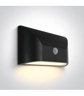6W LED Gaismeklis ar kustības sensoru IP65 Anthracite 67396A/AN/W