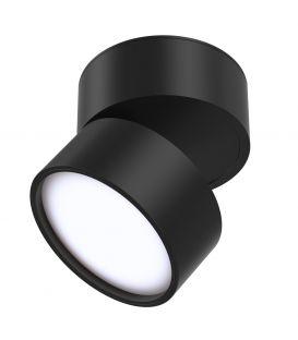 12W LED Griestu lampa ONDA Black 3000K C024CL-L12B3K