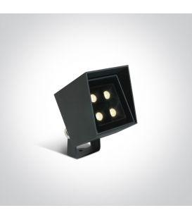 6W LED Iebūvēts ārējais apgaismojums IP65 Anthracite 67514/AN/W