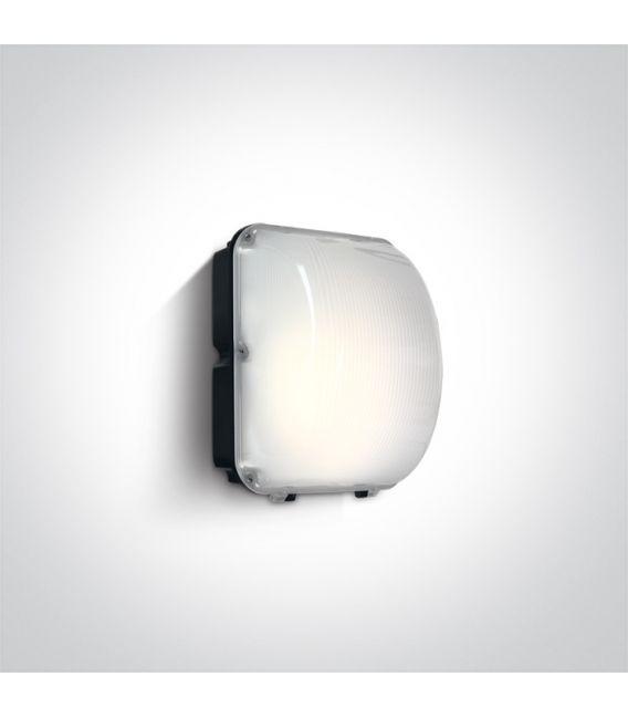 50W LED Sieninis šviestuvas IP65 Black 4000K 7056/C