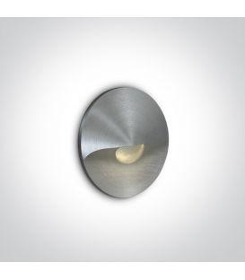 1W LED Iebūvējamā lampa Aluminium 3000K 68070A/AL/W