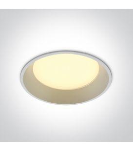 22W LED Iebūvējamā lampa DARK LIGHT White 3000K 10122D/W/W
