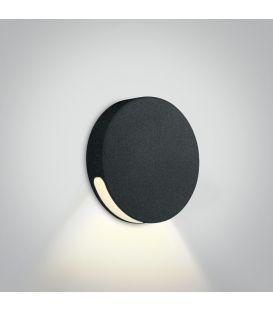 2W LED Iebūvējamā lampa IP65 Black 3000K 68074/B/W
