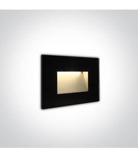4W LED Iebūvējamā lampa Black IP65 3000K 68076/B/W