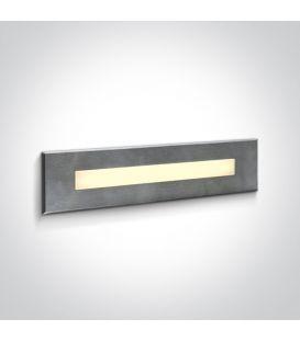 10W LED Iebūvējamā lampa Steel IP65 3000K 68072C/W