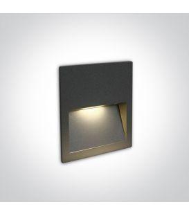 4W LED Iebūvējamā lampa Anthracite IP65 3000K 68068A/AN/W