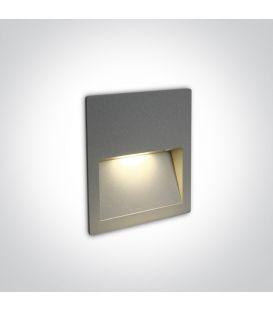 4W LED Iebūvējamā lampa Grey IP65 3000K 68068A/G/W