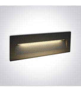 7W LED Iebūvējamā lampa Anthracite IP65 3000K 68068C/AN/W