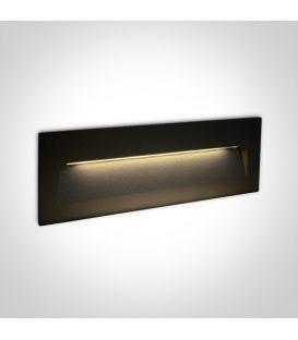 7W LED Iebūvējamā lampa Black IP65 3000K 68068C/B/W
