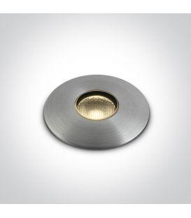 1W LED Iebūvējamā lampa IP67 69042/AL/W