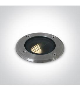 8W LED Iebūvējamā lampa IP67 Steel 69062/W