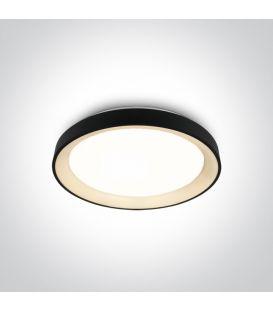 30W LED Griestu gaismeklis Black Ø37.5 62130L/B/W