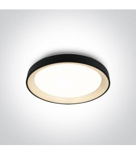 30W LED Griestu lampa Black Ø37.5 62130L/B/W