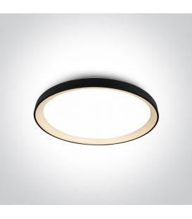 48W LED Griestu lampa Black Ø58 62148L/B/W
