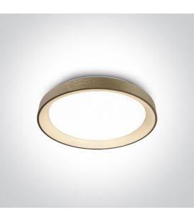 30W LED Griestu gaismeklis Brushed Brass Ø37.5 62130L/BBS/W
