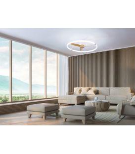 75W LED Šviestuvas su ventiliatoriumi NEPAL Black 7531