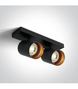 Griestu gaismeklis RETRO 2 Black 65205N/B