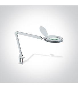 8W LED Galda lampa MAGNIFYING LENS 61066/W