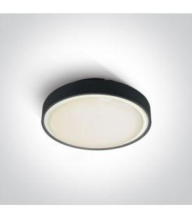 Griestu lampa Black Ø26 IP65 67280E/B