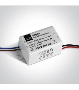 Transformātors 1-4W 3-12V ONE LIGHT IP66 89004