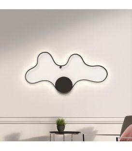50W LED Sienas lampa CLARA/GC Black 33229
